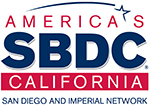 San Diego & Imperial Valley Small Business Development Center Logo